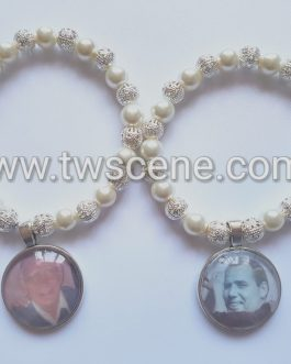 Memory charm bracelet