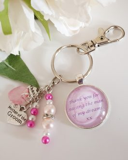 Mother of the groom keyring