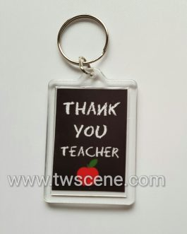 Thank you teacher keyring