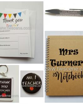 Teacher gift set
