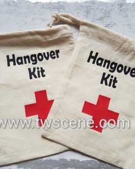 Hangover cure bag