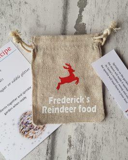 Reindeer food bags