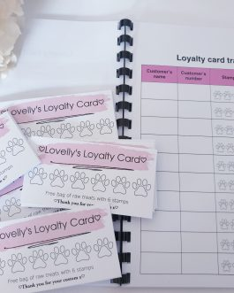 Loyalty cards and book bundle